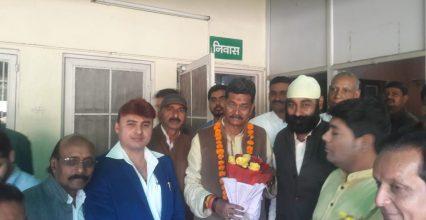 त्रिलोक श्रीवास ने डॉ. चरण दास महंत को दी जन्मदिन की बधाई